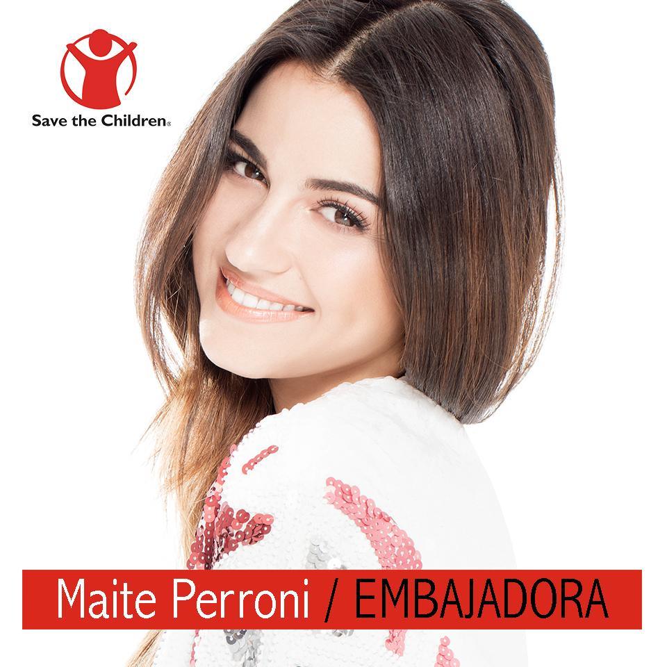"""Maite Perroni se une a """"Save The Children"""""""